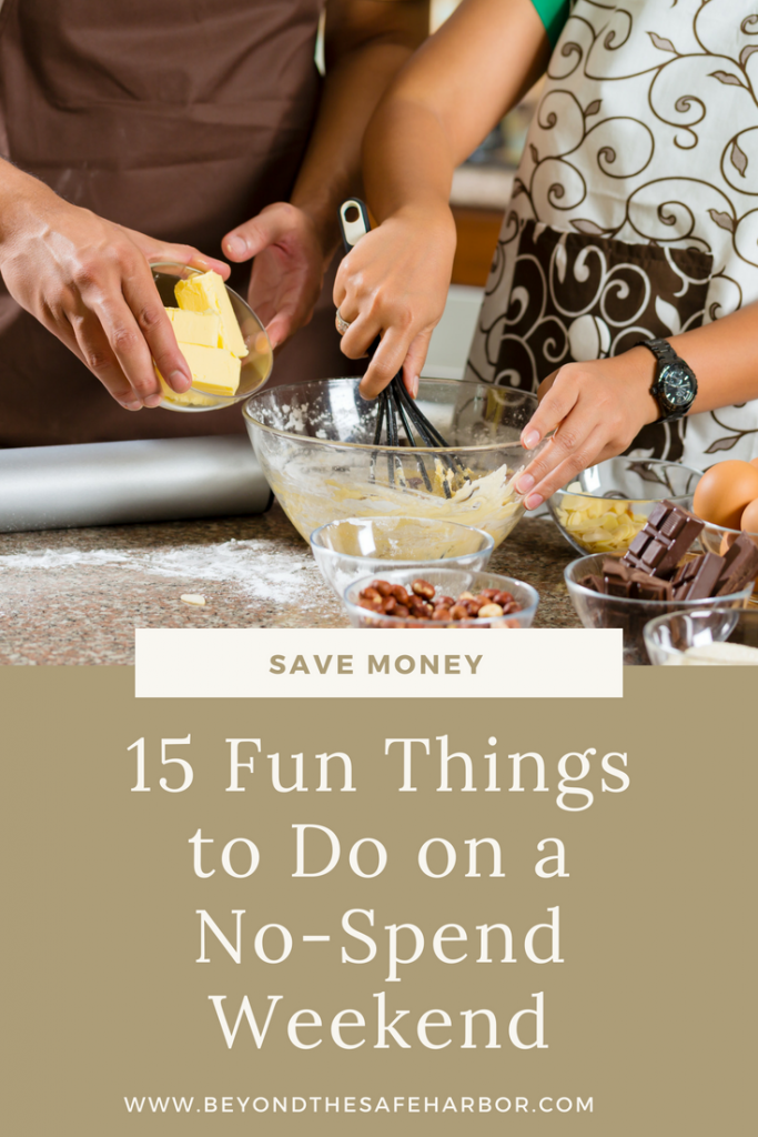 15 Fun Things to Do on a No-Spend Weekend