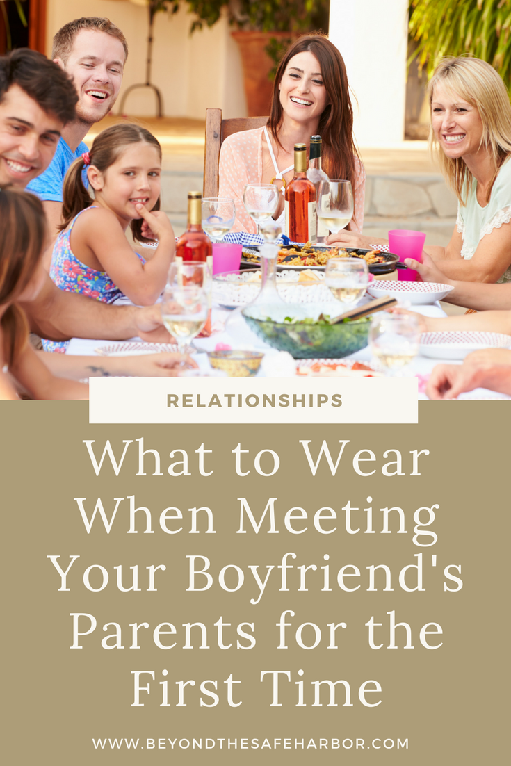 What to Wear When Meeting Your Boyfriend's Parents for the First Time