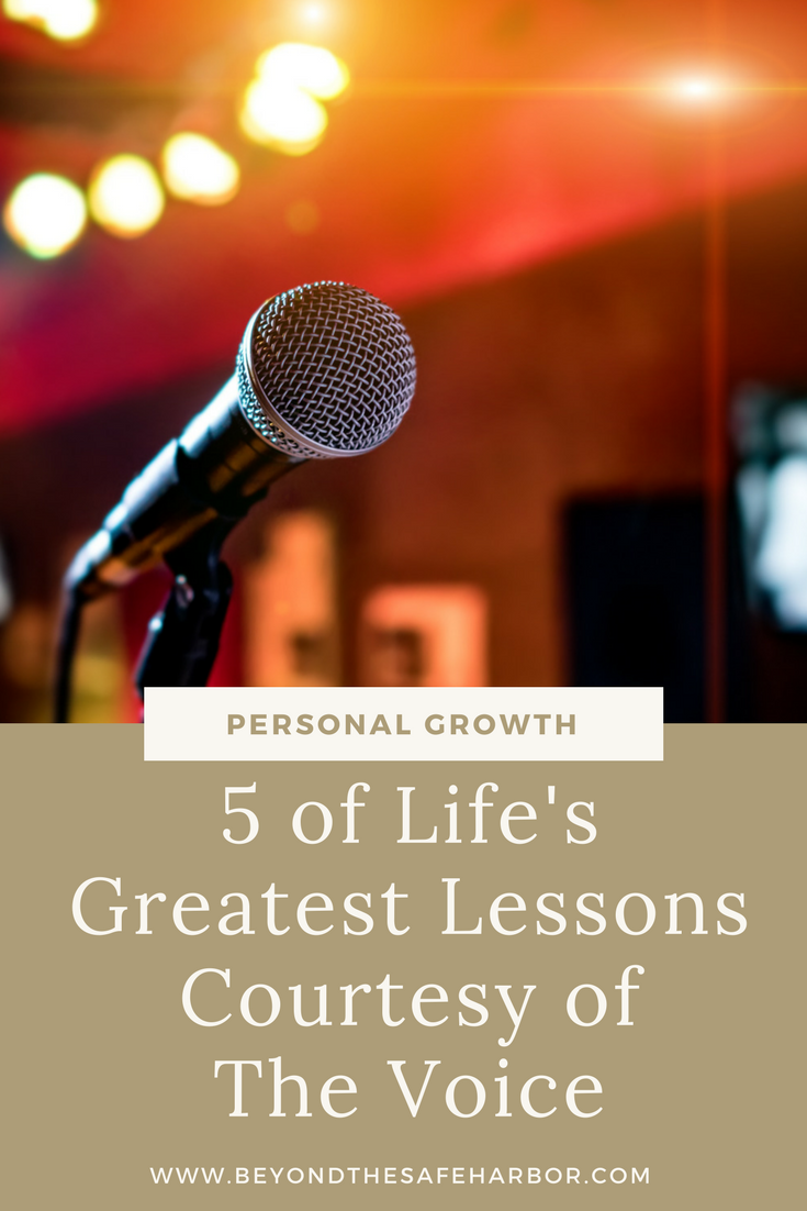 5 of Life's Greatest Lessons Courtesy of The Voice