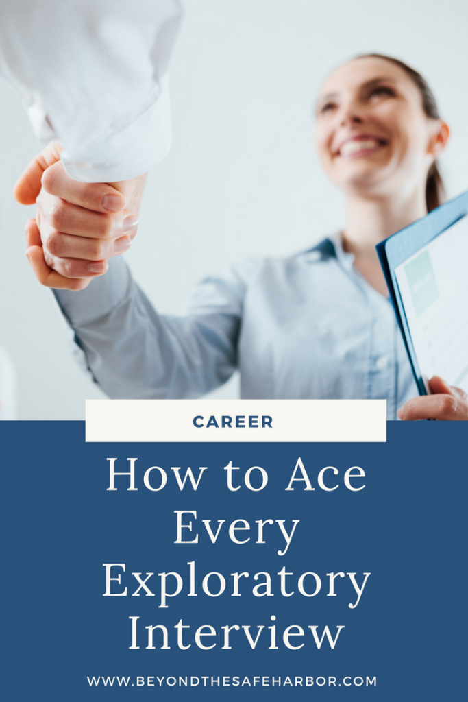 How to Ace Every Exploratory Interview