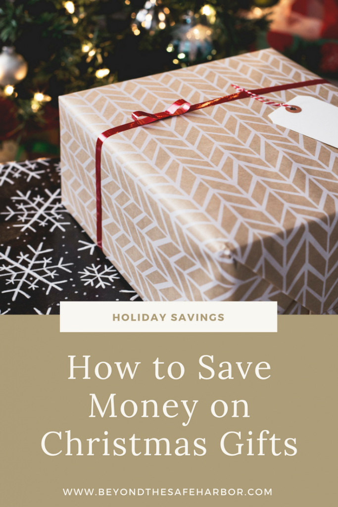Holiday Savings: How to Save Money on Christmas Gifts