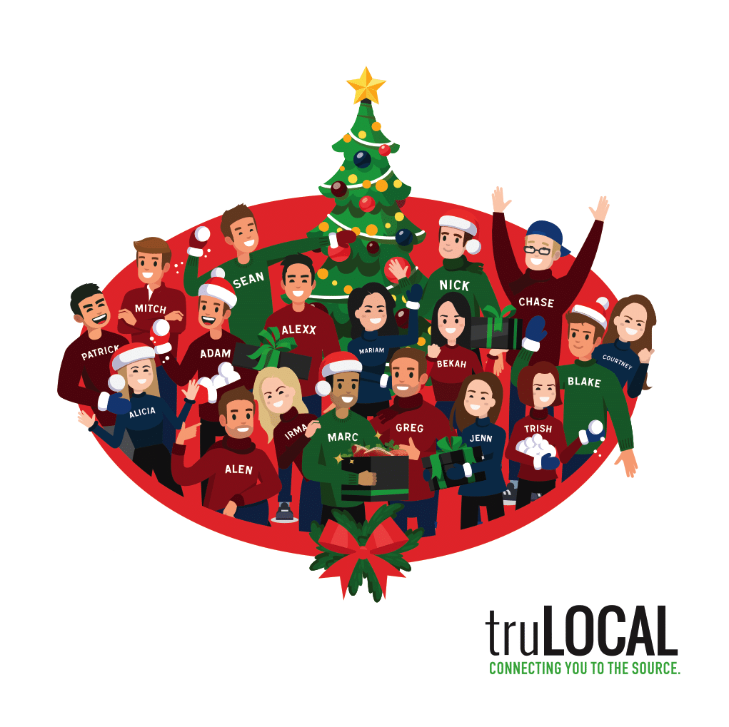 truLOCAL 2018 Holiday Card