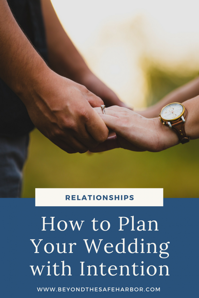 How to Plan Your Wedding with Intention
