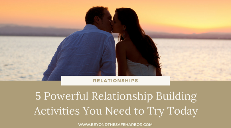 romantic relationship building activities