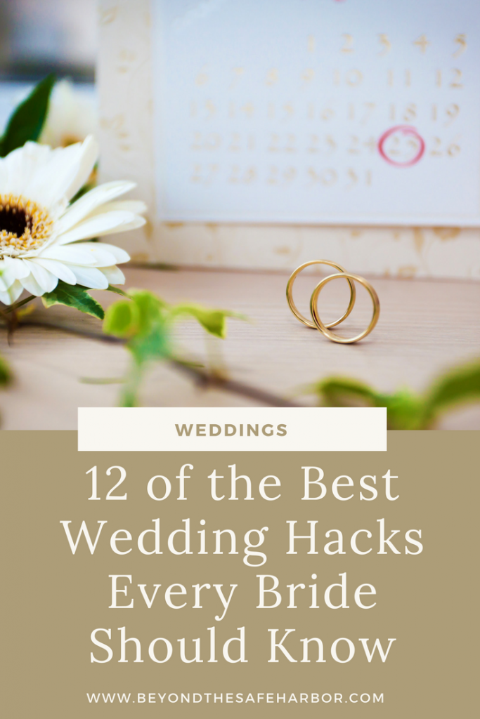 12 of the Best Wedding Hacks Every Bride Should Know