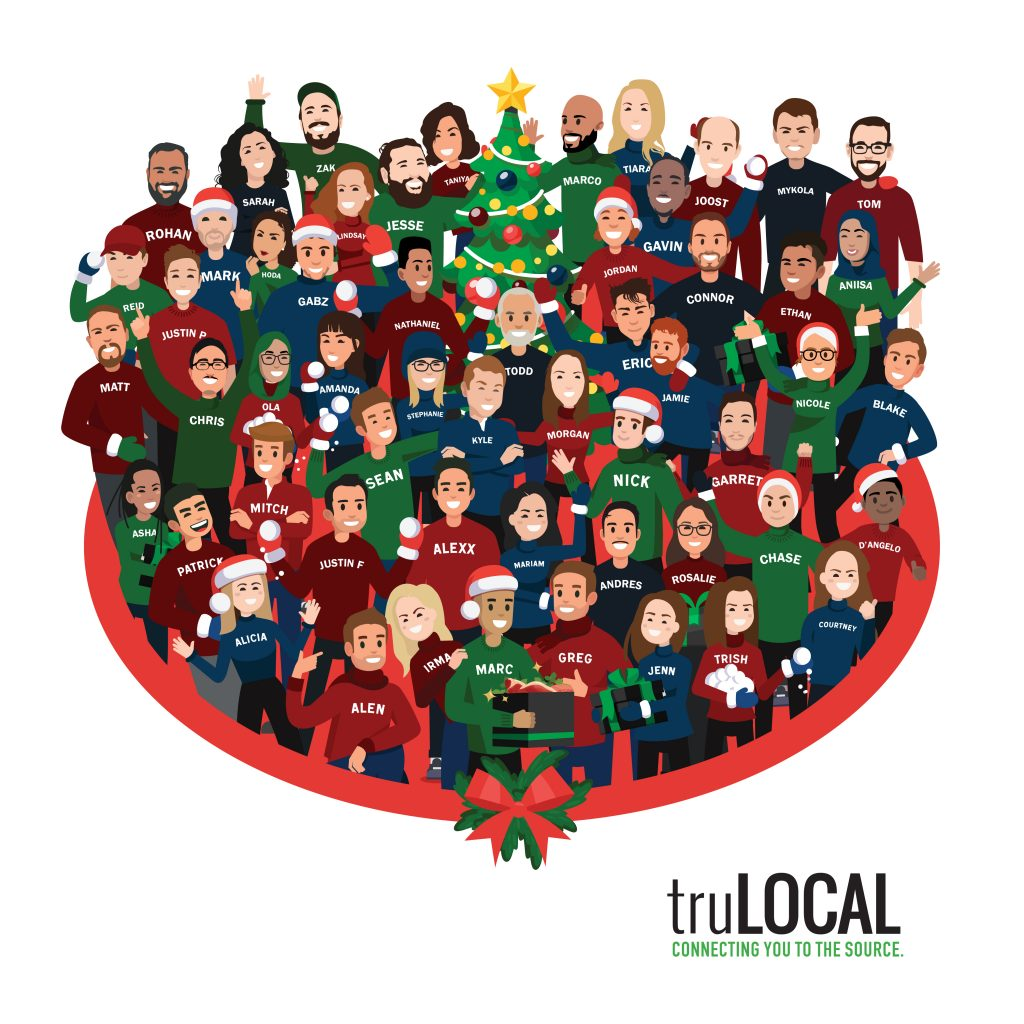 truLOCAL 2020 Holiday Card