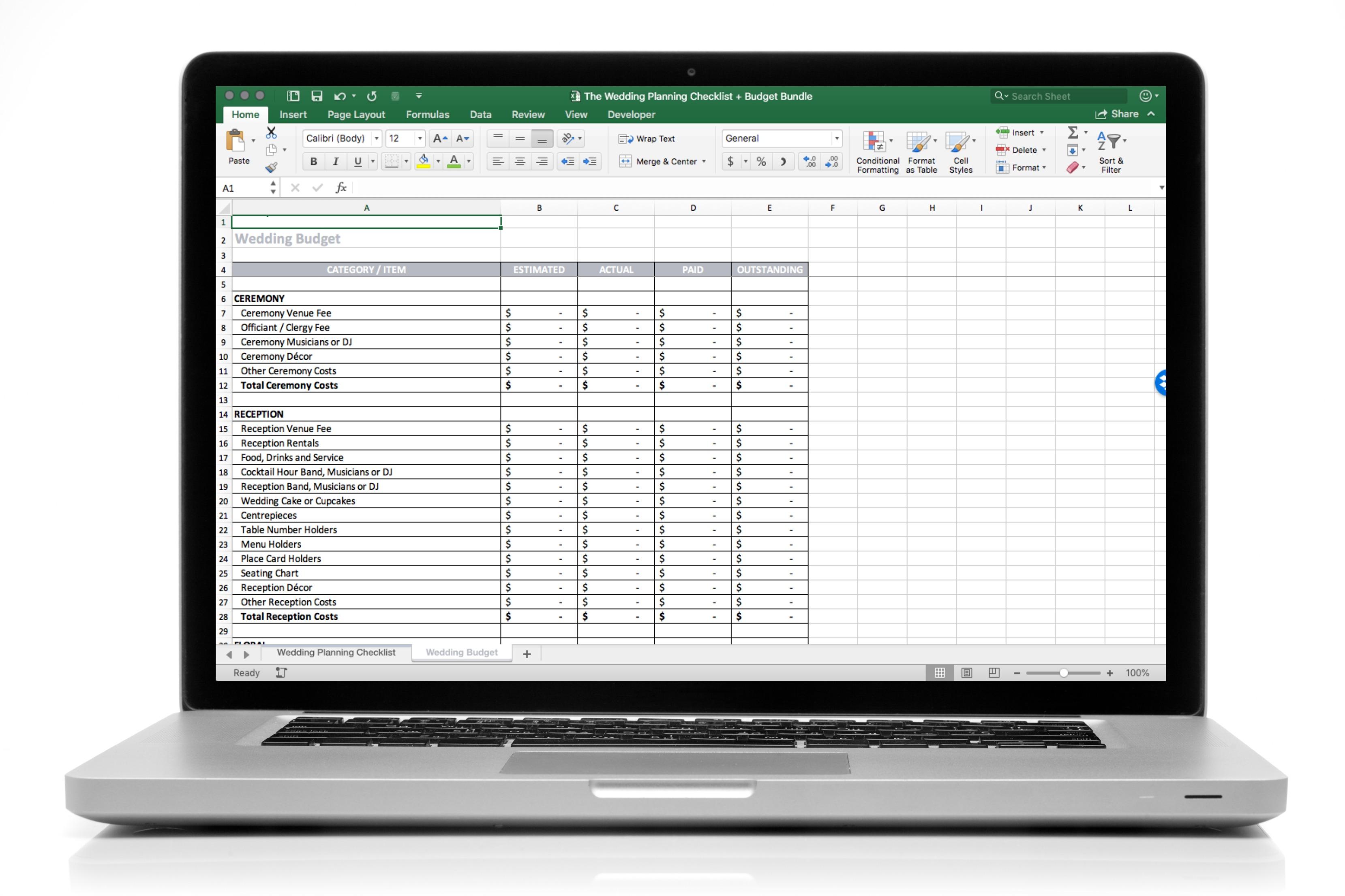 the wedding planning checklist budget bundle save 17 beyond