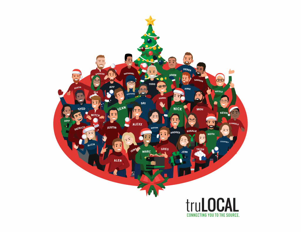 truLOCAL 2019 Holiday Card