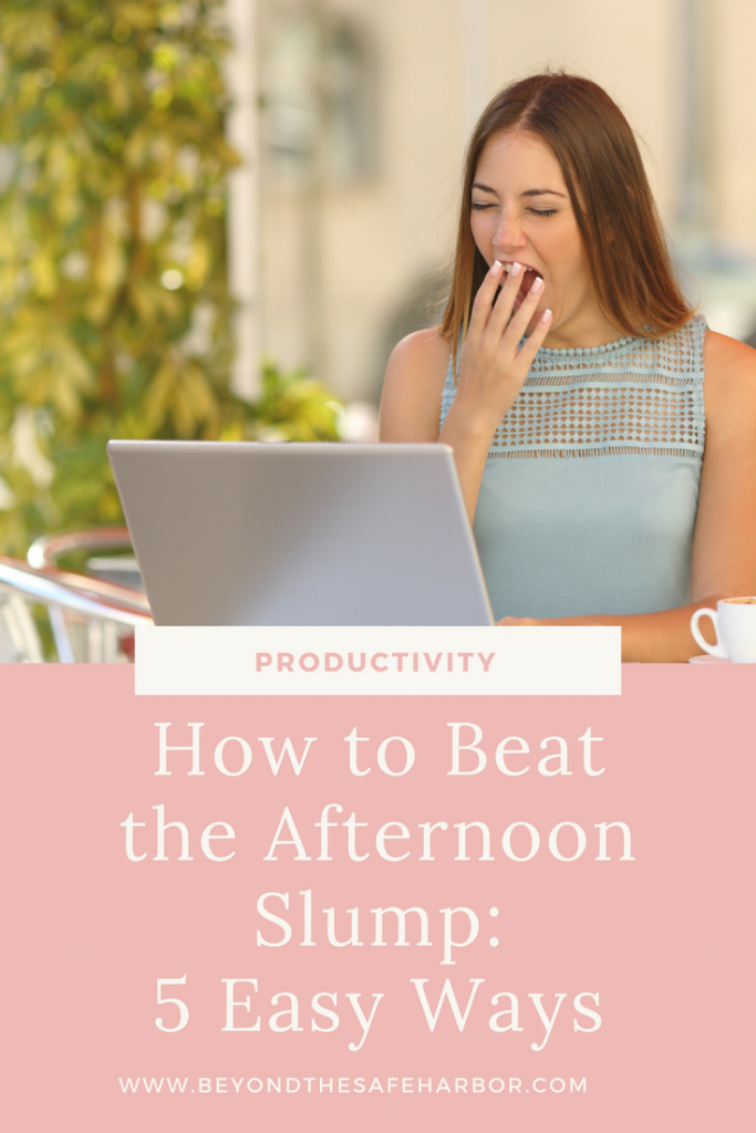 How to Beat the Afternoon Slump: 5 Ways