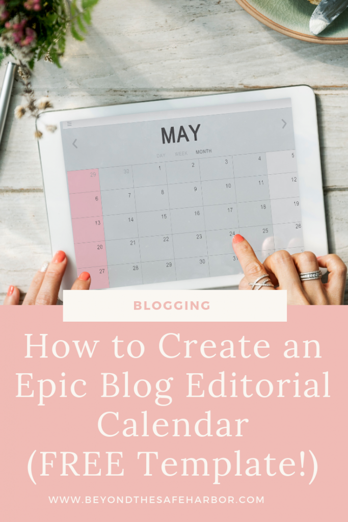 How do you create a blog editorial calendar that captures the right information and is easy to work with? Here's my step-by-step guide to making yours.