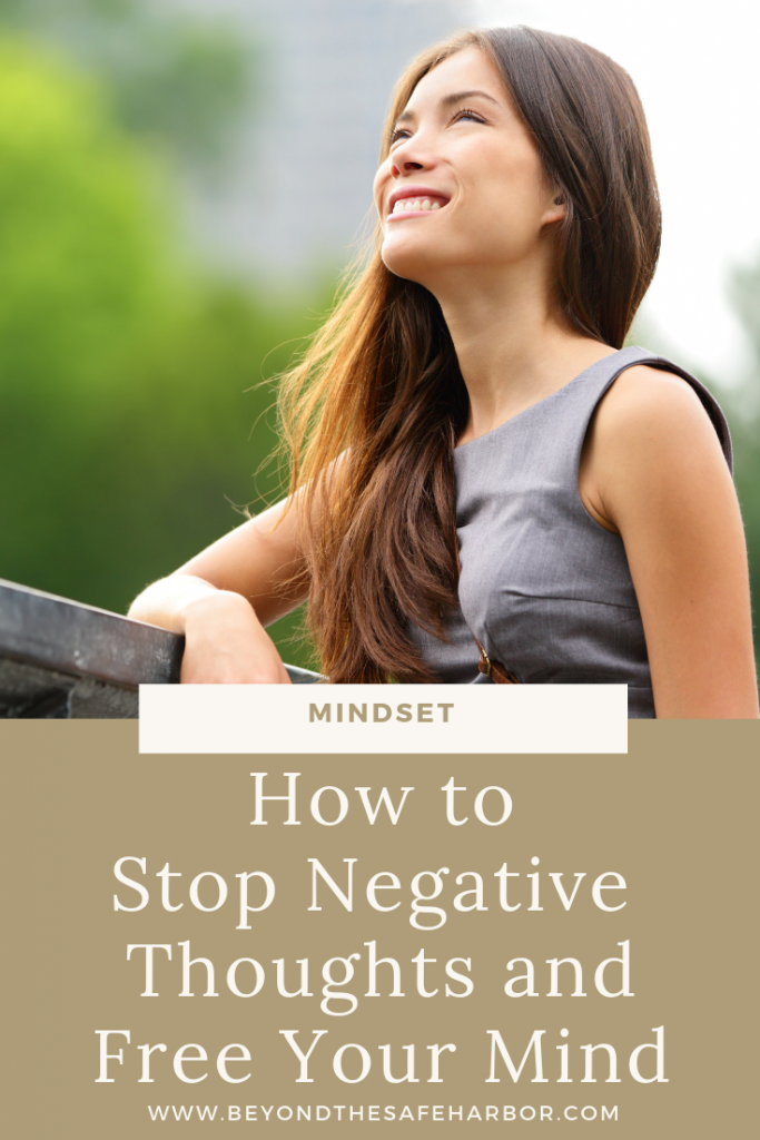 One of the biggest mindset challenges we face is getting trapped in negative thought cycles. Here's a three step approach to stop negative thoughts quickly.