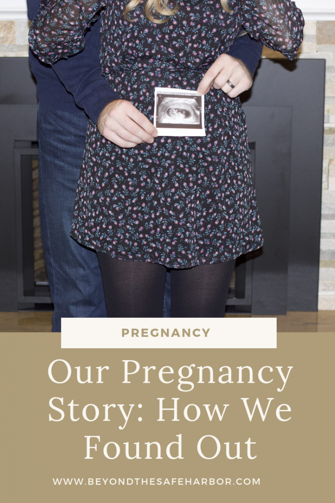 Our Pregnancy Story: How We Found Out Pin