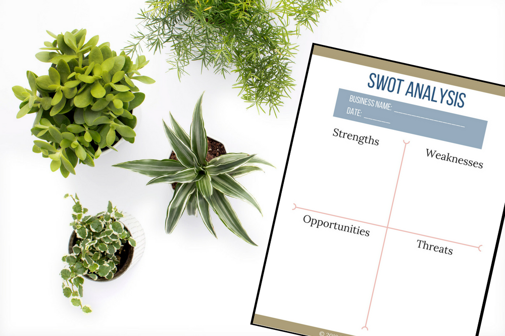 How to Conduct a SWOT Analysis for Your Business (Free Printable!)