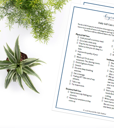 The Ultimate Daily Self Care Checklist (Download for Free!)