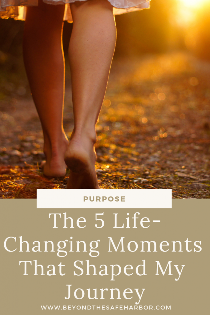 When you look back and reflect on your life, what stands out? This post shares 5 life-changing moments that shaped my journey and made me who I am today.