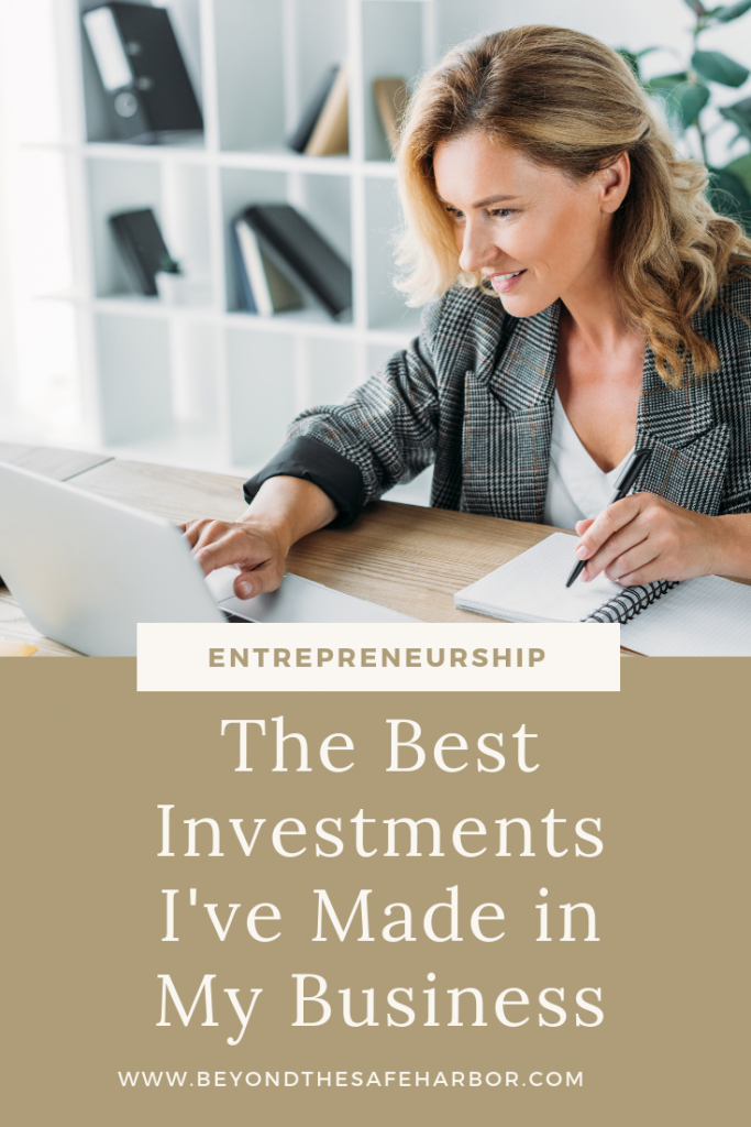 As a business owner, it can be tough to know where to spend your hard-earned dollars. Here are the 6 best investments I've made in my business.