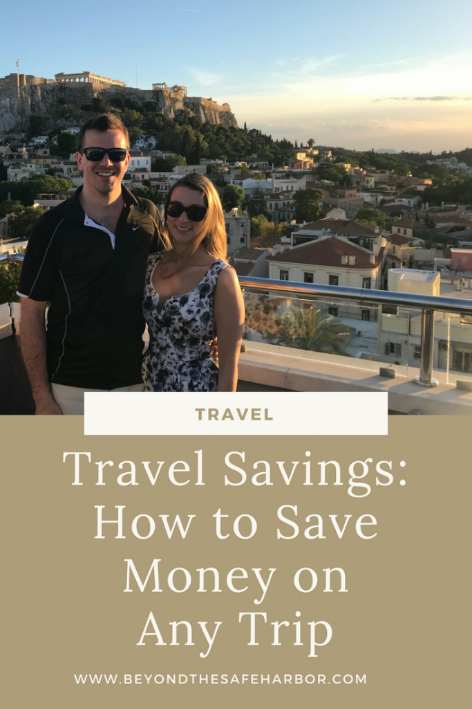 Travel Savings - How to Save Money on Any Trip Pin