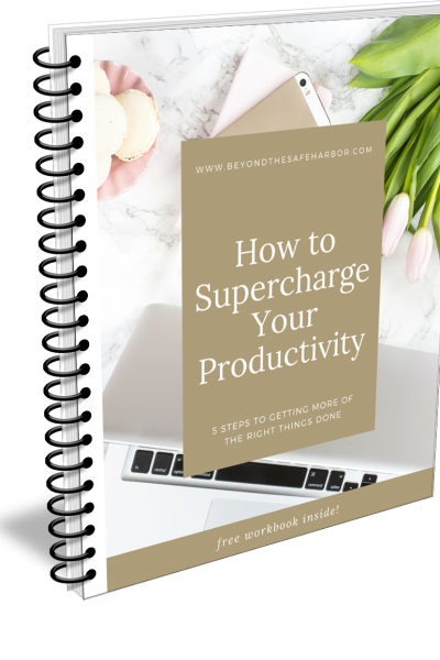 5 Ways to Increase Productivity (Free Workbook Inside!)